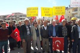 Ermenek'te maden işçileri işsiz