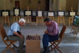 Karaman'da 'Sokakta Satranç Var' Projesine Yoğun İlgi