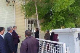 AK Parti yönetimi Sosyal yardımlaşma ve AFAD'ı ziyaret etti.