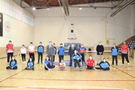Vali Işık, Engelli Sporcuları Yalnız Bırakmadı