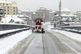 Karaman'da 93 köy yolu ulaşıma kapandı