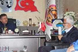 Saadet Partisi Başkan Adayı Şaban Şahin,K.M.T.O. Ziyaret Etti