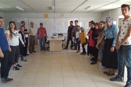 Stajyer Öğrencilere Teknik Gezi Düzenlendi