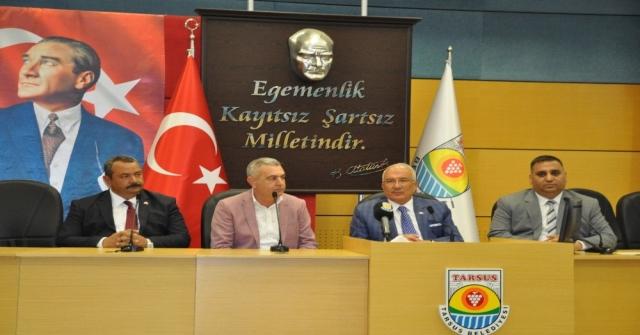 Tarsus Belediyesinde Bayramlaşma