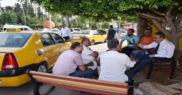 Vali Sudan Taksicilere Sürpriz Ziyaret
