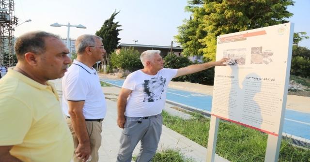 Mezitli Belediyesi Soli Pompeiopolisi Arkeopark Yapmak İçin Harekete Geçti