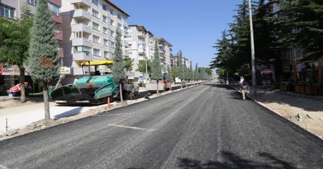 Ereğlide İstasyon Caddesi Yenileniyor