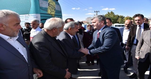 Çumra Şehir Konağı Hizmete Açıldı