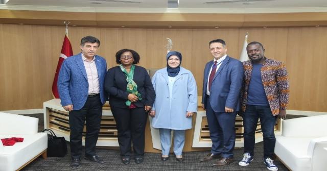 Tanzanya Büyükelçisinden Başkan Toruya Ziyaret