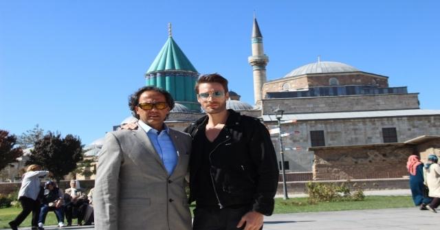 'İslamofobi Filminin Hollywood Oyuncusu Ve Yapımcısı Konyada