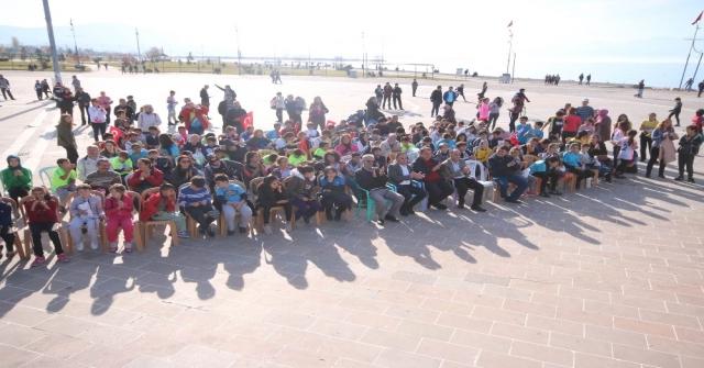 Beyşehirde Oryantiring Yarışları Heyecanı