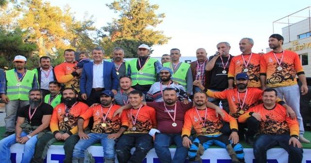 Mersinde İlk Kez Düzenlenen Motokros Yarışları Sona Erdi
