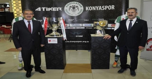 Türkiyenin İki Büyük Kupası, Selçukta Sergileniyor
