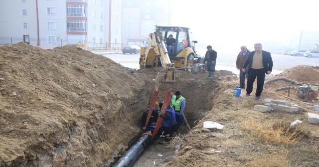 Karamanda Yağmur Suyu Biriken Bölgelerde Altyapı Çalışmaları Tamamladı