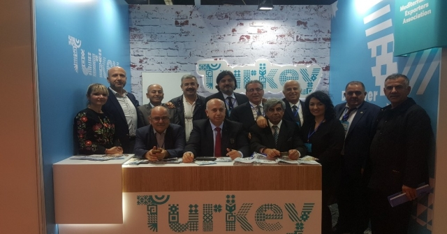 Akib, Israfood Fuarında Milli Katılım Organizasyonu Gerçekleştirdi