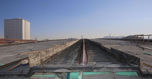 Karamanda Sanayi Köprülü Kavşağında Çalışmalarda Sona Yaklaşıldı