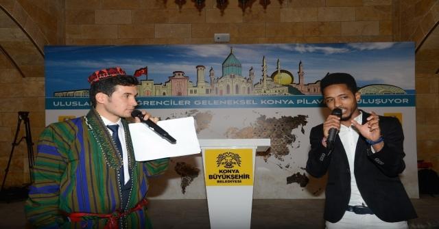 Konyada Öğrenim Gören Yabancı Öğrenciler Buluştu