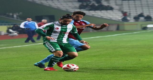 Ziraat Türkiye Kupası: Atiker Konyaspor: 1 - Trabzonspor: 0 (İlk Yarı)