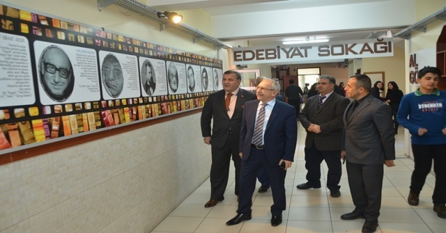 Müsteşar Yardımcısı Bilgili, Mahmut Arslan Anadolu Lisesini Ziyaret Etti
