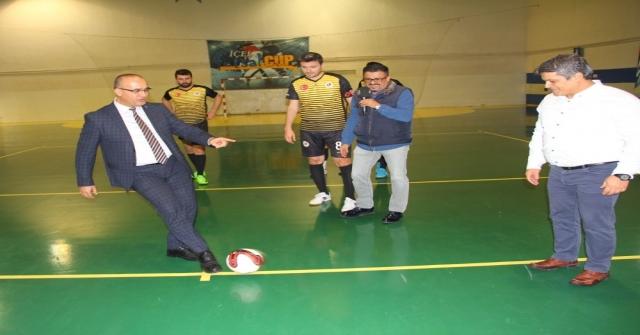 Kurumlararası Futsal Kış Turnuvası Başladı