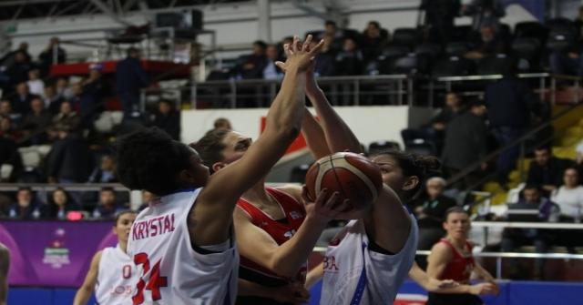Bilyoner.com. Kadınlar Basketbol Ligi: Mersin Büyükşehir Belediyespor: 74 - Abdullah Gül Üniversitesi: 68