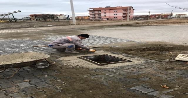 Beyşehir Belediyesinden Drenaj Temizlik Çalışmaları