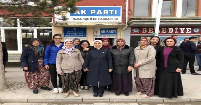 Milletvekili Erdoğandan İlçe Teşkilatlarına Teşekkür