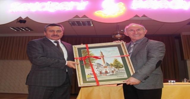 Tarihçi-Yazar Prof. Dr. Ahmet Şimşirgil Seydişehirde Konferans Verdi
