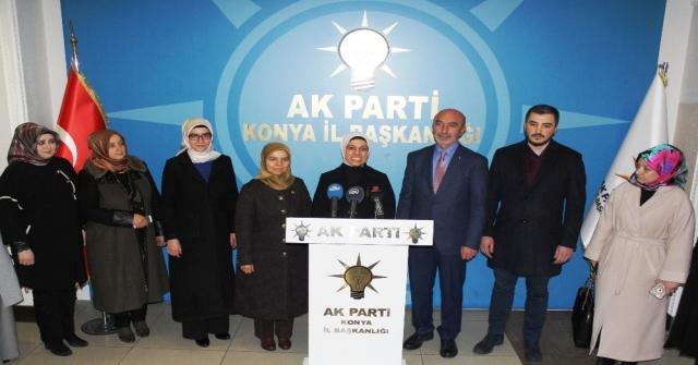 Ak Parti İnsan Haklarından Sorumlu Genel Başkan Yardımcısı Ravza Kavakcı Kan: