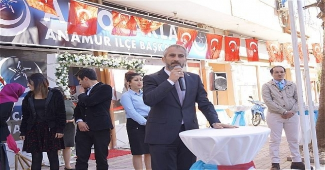 Anamur Ak Ocaklar İlçe Başkanlığı Törenle Açıldı