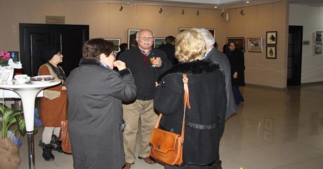 Ressam Ongun, 65. Yılını Mtso Sanat Galerisinde Kutladı