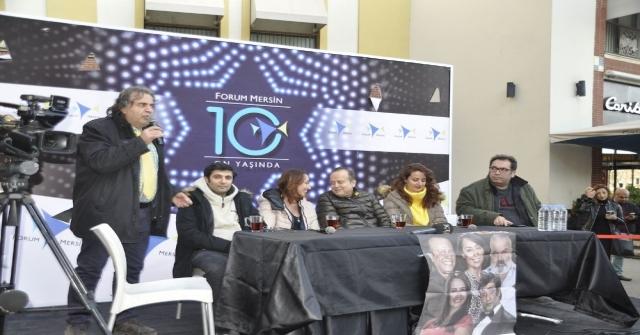 Vay Sen Misin Ben Olan Oyuncuları Forum Mersinde Hayranlarıyla Buluştu