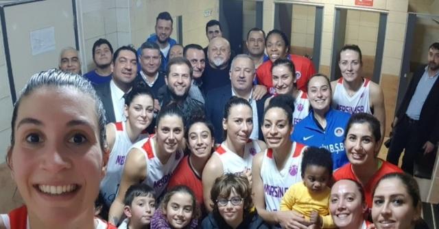 Mersin Büyükşehir Belediyespor, Avrupada Bir Üst Tur Peşinde
