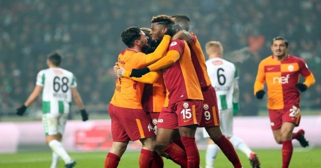 Ziraat Türkiye Kupası: Atiker Konyaspor: 2 - Galatasaray: 2 (Maç Sonucu)