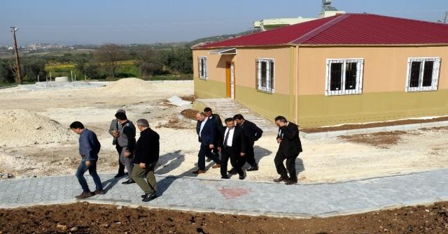 Başkan Pamuk, Mahalle Ve Taziye Evleri İnşaatını İnceledi