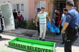 Karaman'da bir çocuk annesi kadın evinde ölü bulundu