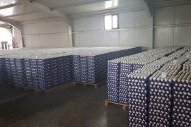 Nizam'ın yumurtaları tüm şubelerde satışa başladı.
