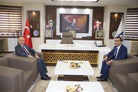 Vali Meral Ve Başsavcı İşlek'den Başkan Kalaycı'ya Ziyaret