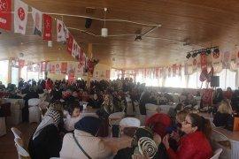 Karaman'da Ülkücü Kadınlar Buluştu