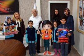 Öğrenciler Mevüt Kuntoğlu'nu ziyaret etti