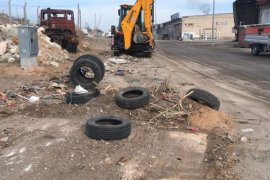 Karaman Belediyesi gece gündüz demeden temizlik yaptı
