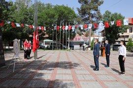 Karaman'da 19 Mayıs Sade Bir Törenle Kutlandı