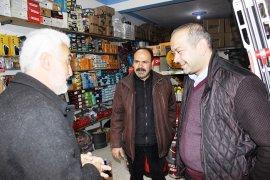 Şaban Şahin, Esnaf Gezilerini Sürdürüyor