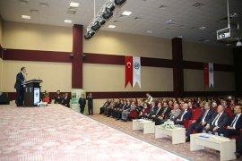Bakan Özhaseki Karaman Belediyesi'ni Ziyaret Etti