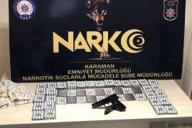 Karaman'da uyuşturucudan adliyeye sevk edilen 2 kişi tutuklandı