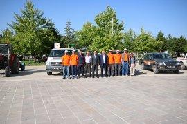 Beyşehir Belediyesi, ilçenin her noktasında sinekle mücadele ediyor