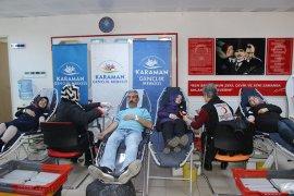 Gençlik Ve Spor İl Müdürlüğü'nden Kan Bağışı Kampanyası