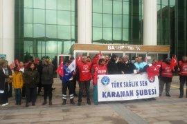 Karaman Türk SAĞLIK SEN Şubesinden Döner Sermaye Açıklaması