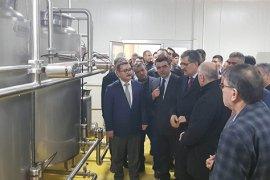 Karaman Süt Toplama Merkezi ve Laboratuvarı açıldı
