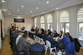 Ermenek'te İstişare  Toplantısı  Yapıldı